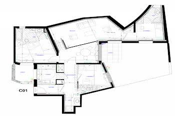 Appartement 4 pièces 100,9 m2