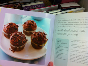 Photo: Could anyone pass up these chocolate cupcakes. This is just one of many mouth watering recipes.