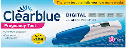 Clearblue Digital Pregnancy Test - with Weeks Indicator, 2 Tests