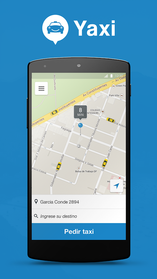 Yaxi Taxi- screenshot