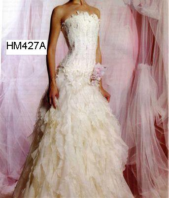 HM427 Sexy Lace Bridal Gown/Wedding Dresses