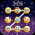 Emoji lock screen pattern Icon