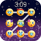 Emoji lock screen pattern