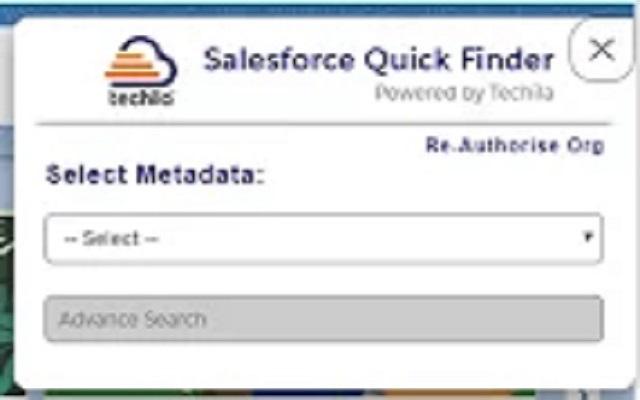 Salesforce Quick Finder