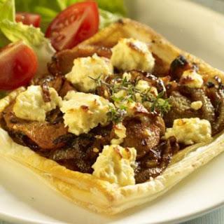 Butternut, Onion & Feta Tarts