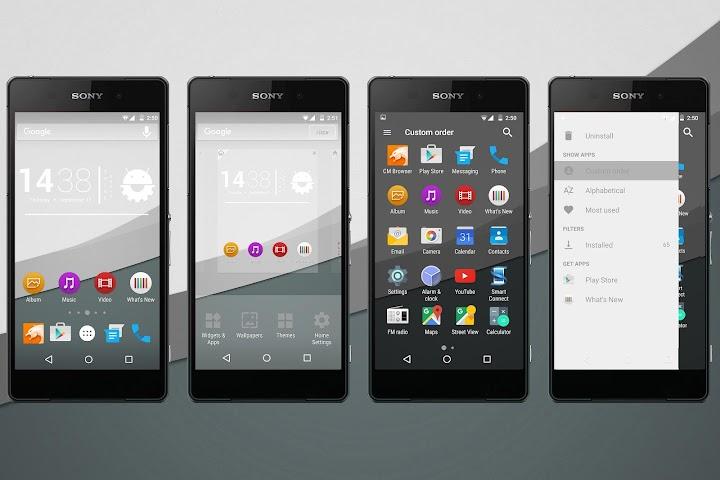 android Material Grey Theme Screenshot 0