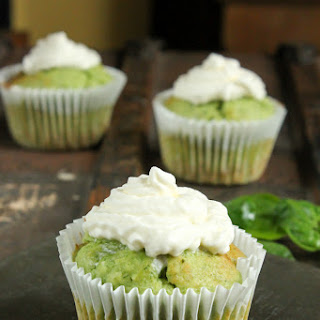 Spinach and Almond Cupcakes.