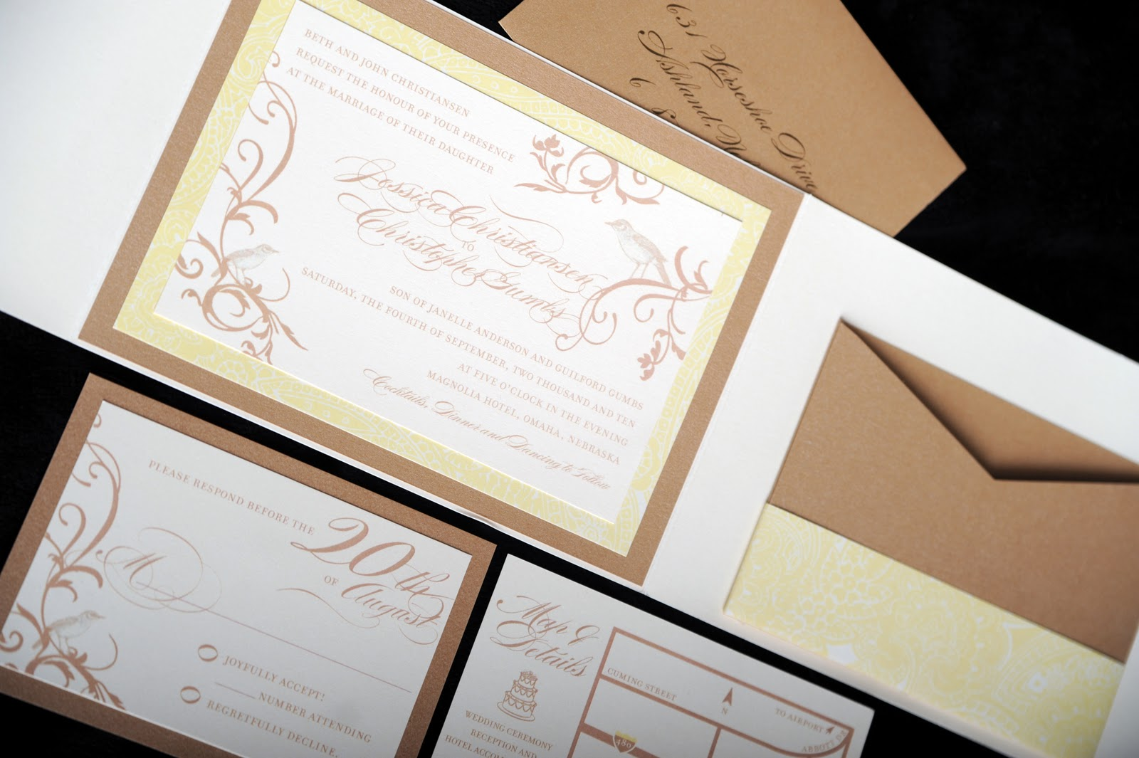 free wedding invitations ai