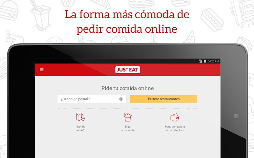 JUST EAT - Comida a domicilio screenshot 05