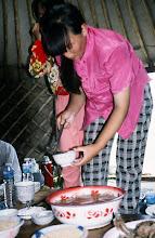Photo: 03514 経棚郊外/克什克謄旗の旗長の歓迎パーティー/食事