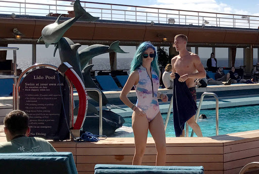 cruise-young-people.jpg - JoCo passengers on the Lindo deck of Westerdam — not your typical Holland America cruisers!