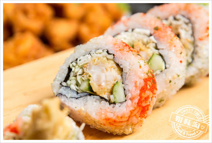豐日式居酒屋炸蝦捲壽司