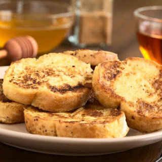 Vanilla Rum Soaked French Toast