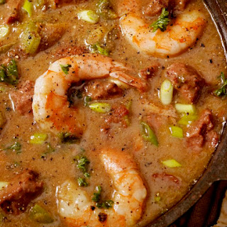 Seafood Gumbo with Shrimp and Crab Meat Recipe
