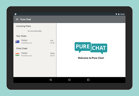 Pure Chat - Customer Live Chat- screenshot thumbnail