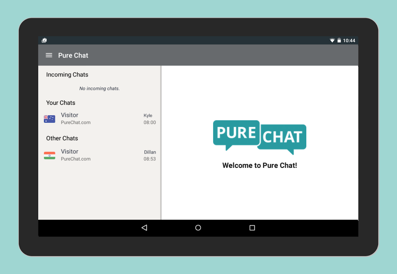 Pure Chat - Customer Live Chat- screenshot
