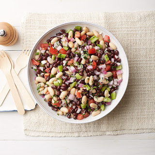 Black-and-White Summer Bean Salad.