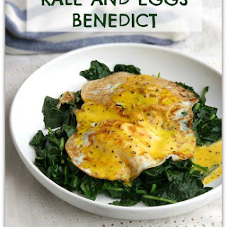 Kale and Eggs Benedict with Nourishing Hollandaise Sauce