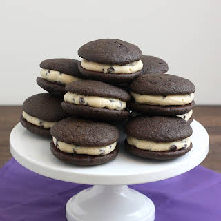 Chocolate Chip Cookie Dough Whoopie Pies.