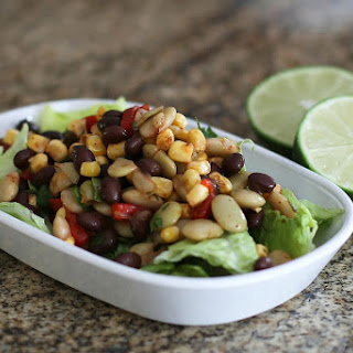 Tex-Mex Black Bean and Corn Salad Recipe