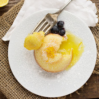 Little Lemon Lava Cakes.