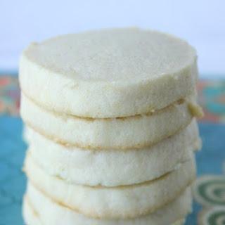 Slice and Bake Sugar Cookies.