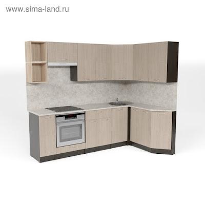 Кухонный гарнитур Надежда прайм 5 2300*1500 мм