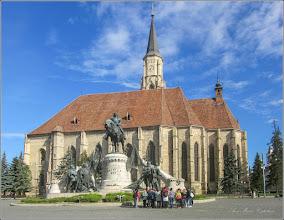 Photo: Cluj-Napoca - Piata Unirii - Biserica Romano-Catolica Sfantul Mihail - 2018.04.27