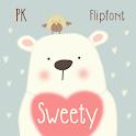 PKsweety™ Latin FlipFont icon