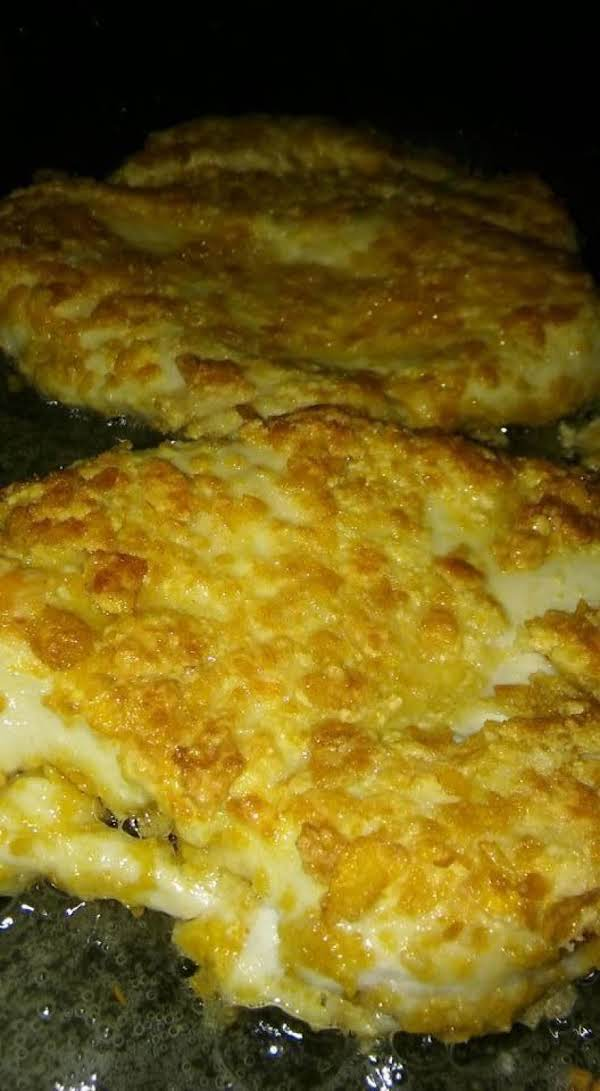 Chicken Cutlets With Mushroom Sauce-connie's Recipe