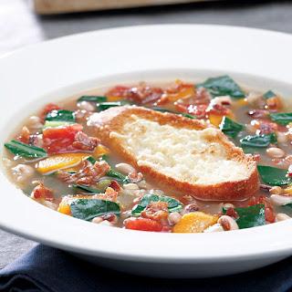 Collard Green & Black-Eyed Pea Soup Recipe