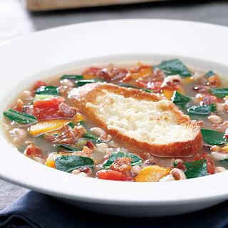 Collard Green & Black-Eyed Pea Soup.
