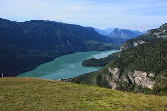 Photo: Lago di Molveno da decollo parapen