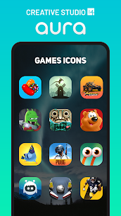 Aura Icon Pack – Rounded Square Icons Patched APK 5