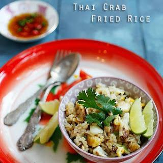 Thai Crab Fried Rice.