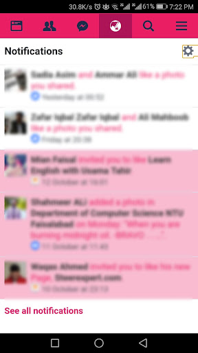 Pink Color for Facebook 2.0.6 screenshots 6