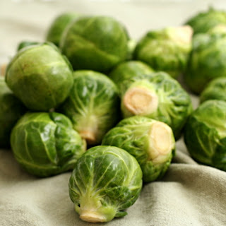 Brussels Sprouts Braised in Cream (adapted from Cooks Illustrated)
