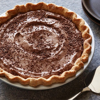 Bobby's Lighter Frozen Chocolate Mousse Pie.