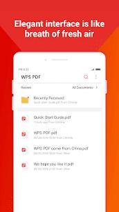 WPS PDF –  Free For PDF Scan, Read, Edit, Convert 3