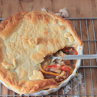 Sweet Pepper & Wild Mushroom Pie – Recipe using Tesco Finest*ingredients