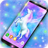 Majestic Unicorn Live Wallpaper