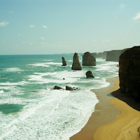 The Twelve Apostles by Israel  Padolina - Novices Only Landscapes ( ocean, beach, rock formation, landscape )