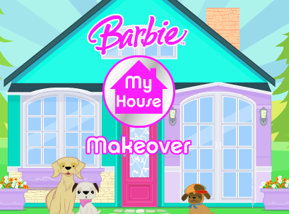 Free online kid games barbie my house makeover game House remodeling games online