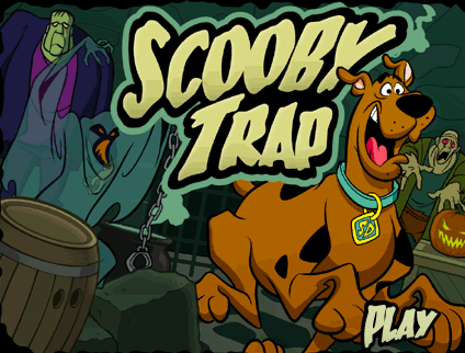 Cartoon Network Scooby-Doo Scooby Trap Game
