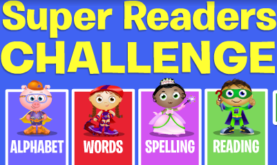 PBS Kids Super WHY! Super Readers Challenge