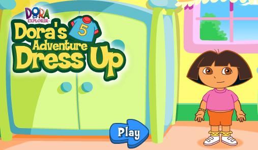 Nick Jr. Dora's Adventure Dress Up Game