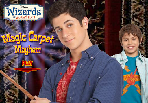 Disney Wizards of Waverly Place Magic Carpet Mayhem Game