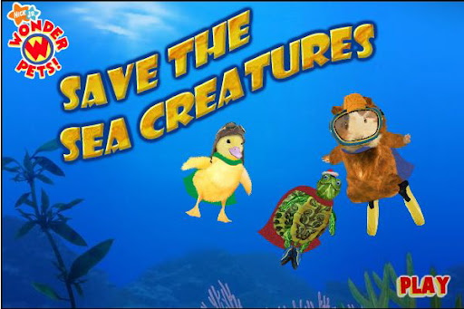 Noggin Wonder Pets Save the Sea Creatures Game
