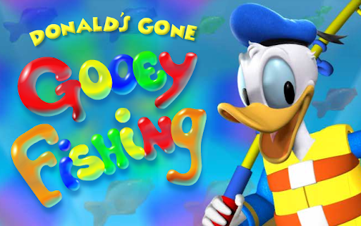 Mickey Mouse Clubhouse Donald's Gone Gooey Fishing Disney Game