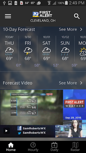 Cleveland19 FirstAlert Weather 4.7.1601 screenshots 2